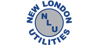 New London Utilities logo - links to Home